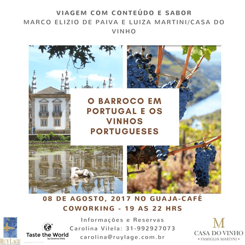 O Barroco e os vinhos portugueses