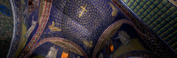 Mosaicos no Norte da Itália Ravenna