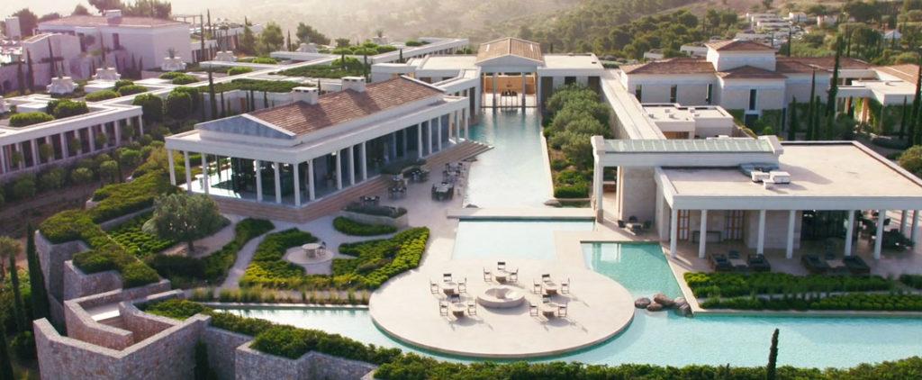 Viagem para Grécia Hotel Amanzoe