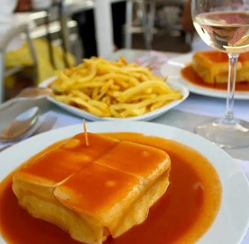 prato portugues francesinha